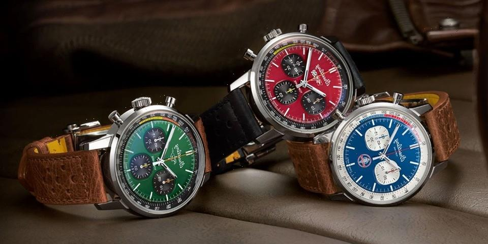 Breitling Top Time Chronograph Trio Takes Inspiration From 1960s Muscle Cars