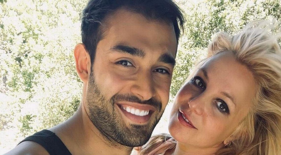 Britney Spears fans go wild as beau posts then deletes ring snap after hack
