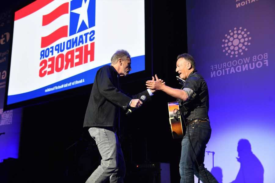 Bruce Springsteen, Jon Stewart, Jim Gaffigan to Perform at 'Stand Up for Heroes' Benefit