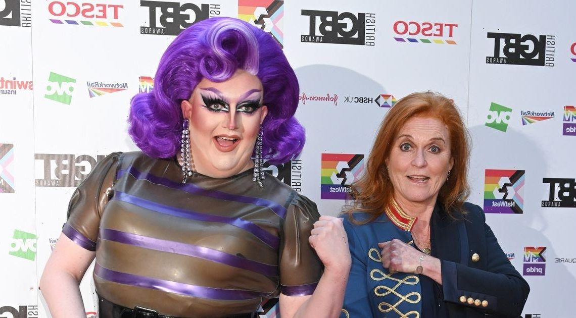 Drag Races Lawrence Chaney overwhelmed as real royalty Fergie gushes over her