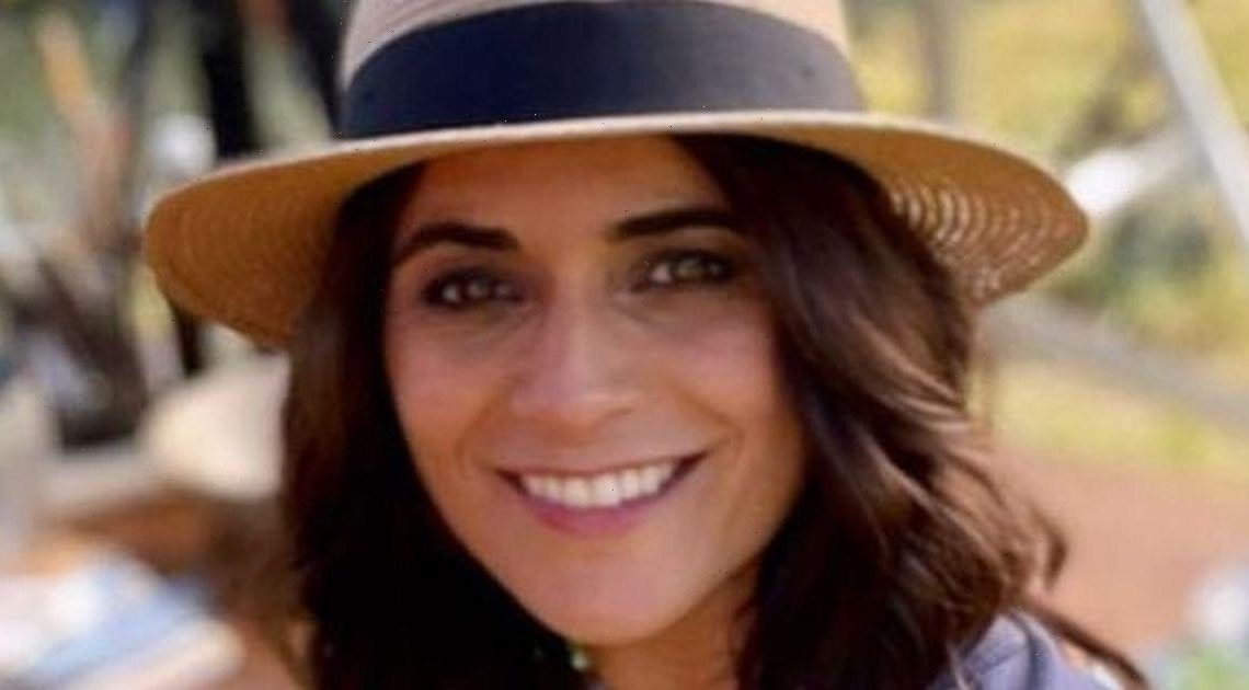 GMBs Lucy Verasamy flashes legs as she dons miniskirt in sun-soaked display
