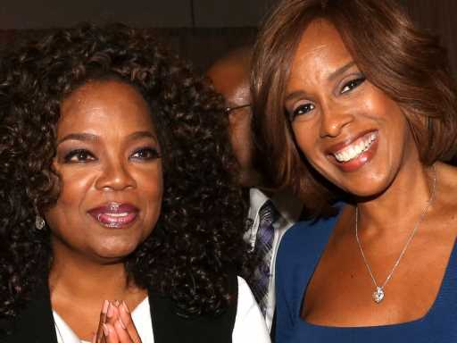 Gayle King Has No Qualms About Third-Wheeling It on Oprah & Stedman Graham's Vacations