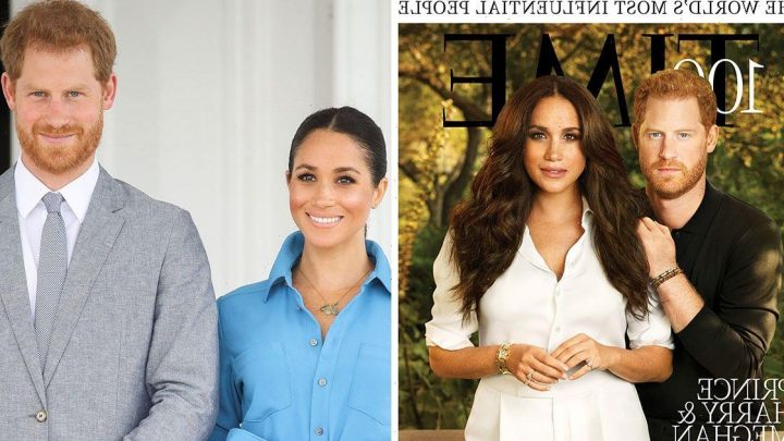Harry sat obediently by Meghan like a lapdog – that front cover made me puke