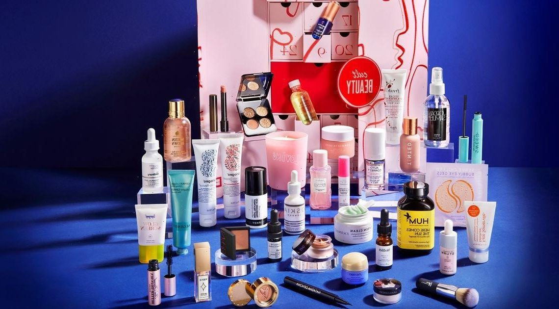 Inside the Cult Beauty advent calendar worth almost £1,000 – featuring NARS and Vieve