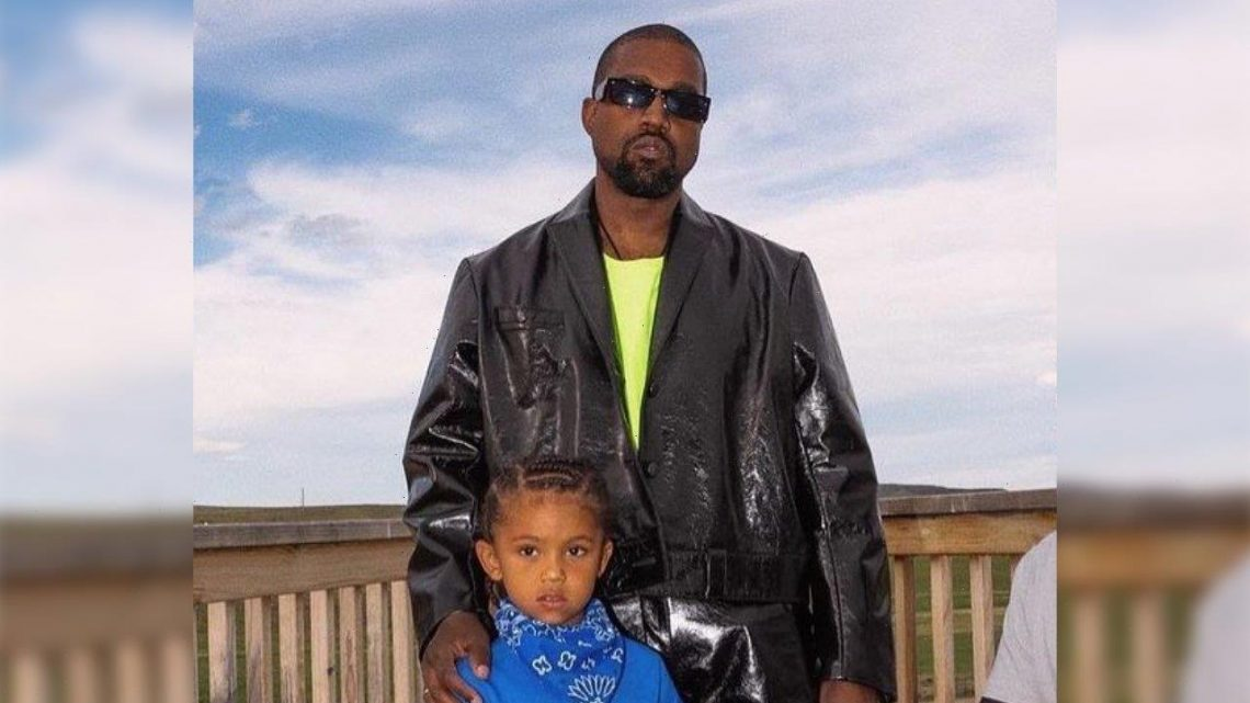 Kanye West Leaves Fans Confused With Pics of Son Saints Broken Arm