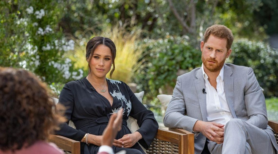 Meghan Markle and Harrys Oprah interview loudly booed by audience at NTAs