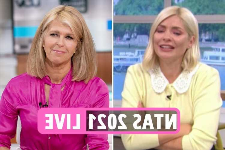 NTA Awards 2021 LIVE: Kate Garraway makes Holly Willoughby cry over Finding Derek nomination as public votes on winners