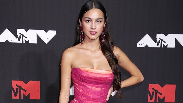 Olivia Rodrigo Is Pretty In Pink As She Rocks Strapless Gown On MTV VMAs Red Carpet  Photos