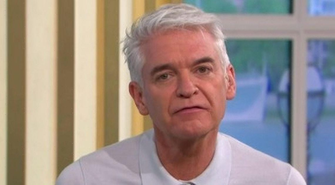 Phillip Schofields This Morning makeup blunder saw him looking like 'wardrobe