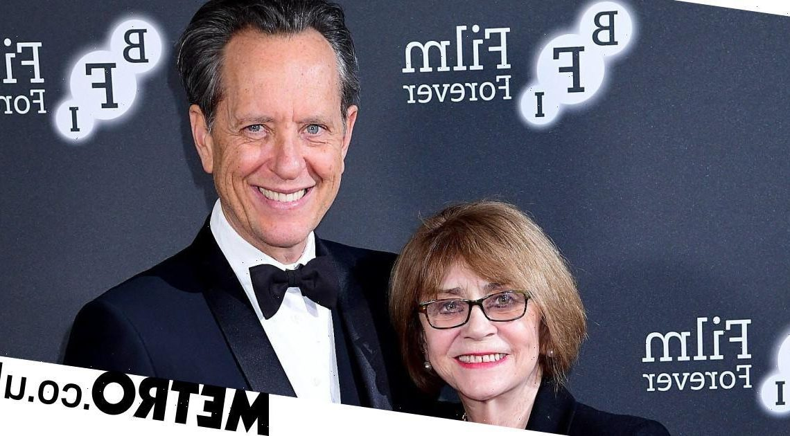 Richard E Grant shares heartbreaking message ahead of late wife Joan's funeral