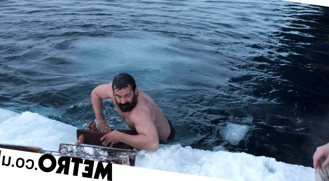 Stephen Graham and Colin Farrell brave Arctic Ocean in BBC's The North Water