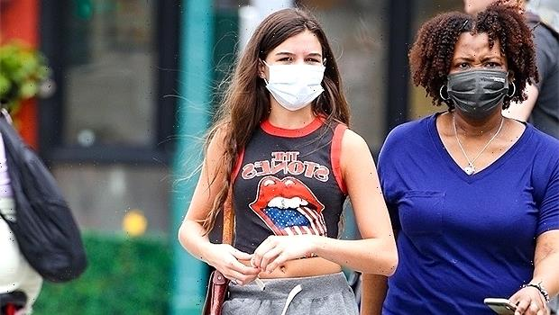 Suri Cruise Wears Vintage Rolling Stones Tank Top While Out In NYC Without Mom Katie Holmes