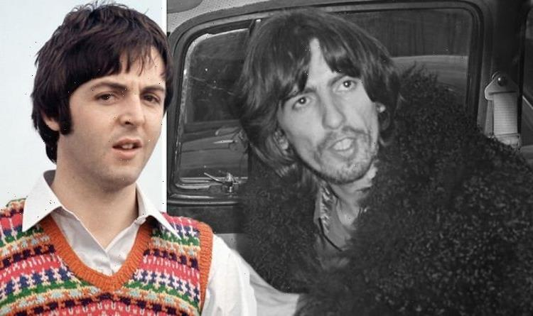 The Beatles: George Harrison wrote vicious song about Paul McCartney after quitting band