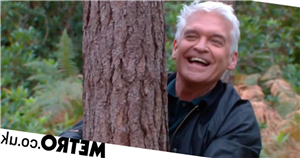 This Morning viewers baffled as Phil and Holly Willoughby go tree hugging