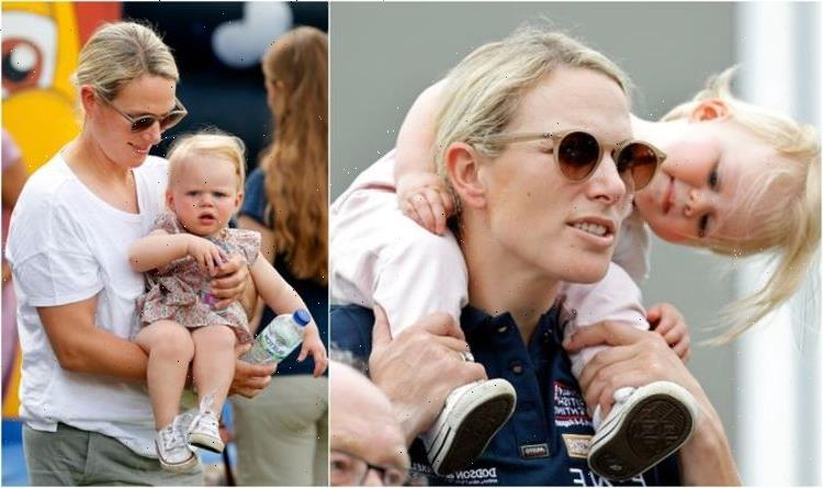 Zara Tindall has down to earth parenting with Mia and Lena despite royal struggles