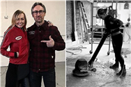 American Pickers star Mike Wolfe's girlfriend Leticia Cline takes fans inside construction of new shop