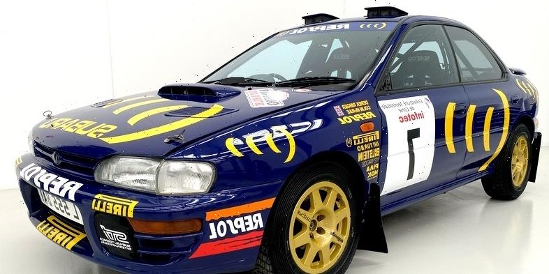 Barn-Found Subaru Impreza Turns Out to Be WRC Championship Car Driven by Colin McRae
