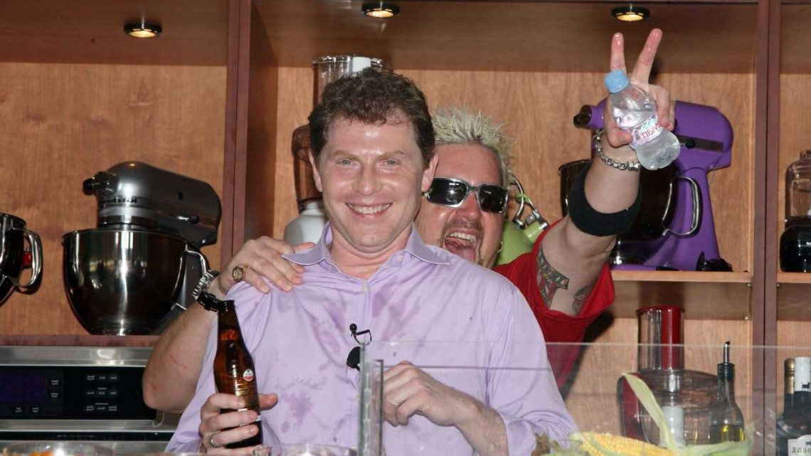 Bobby Flay Reportedly Wanted a Guy Fieri-Sized Deal 'in the Ballpark of $100 Million' From Food Network