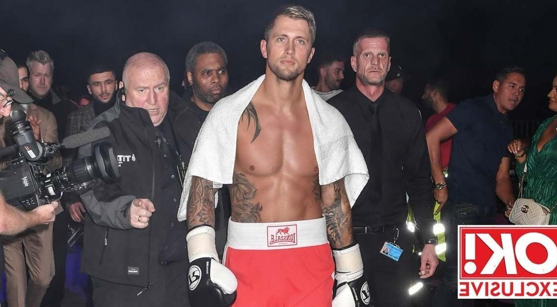 Dan Osborne gutted after losing more than two stone after years bulking up