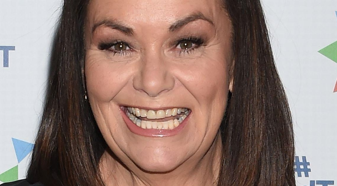 Dawn French unrecognisable with short grey hair after ditching her trademark bob