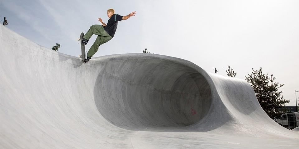 Designer Rich Holland Breathes New Life Into Nike's EHQ With a Skate Landscape