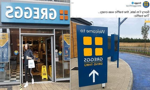 Greggs delights fans after teasing plans to open drive-thrus in the UK