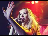 Iggy Azalea Performs During Knicks Half-Time Show At Madison Square Garden