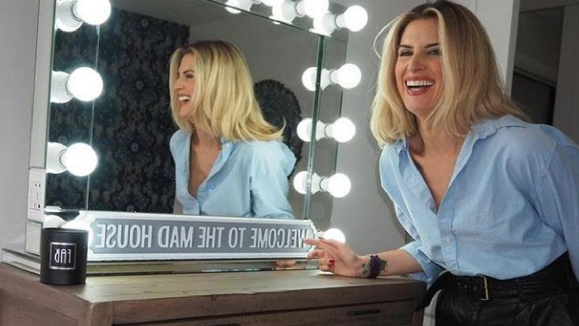 Inside Hollyoaks star Sarah Jayne Dunn's Cheshire mansion with neon signs and bold prints