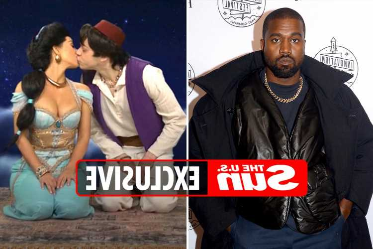 Kanye West has 'no hurt feelings' over ex Kim Kardashian & Pete Davidson's SNL kiss & thought ex was 'funny' as host