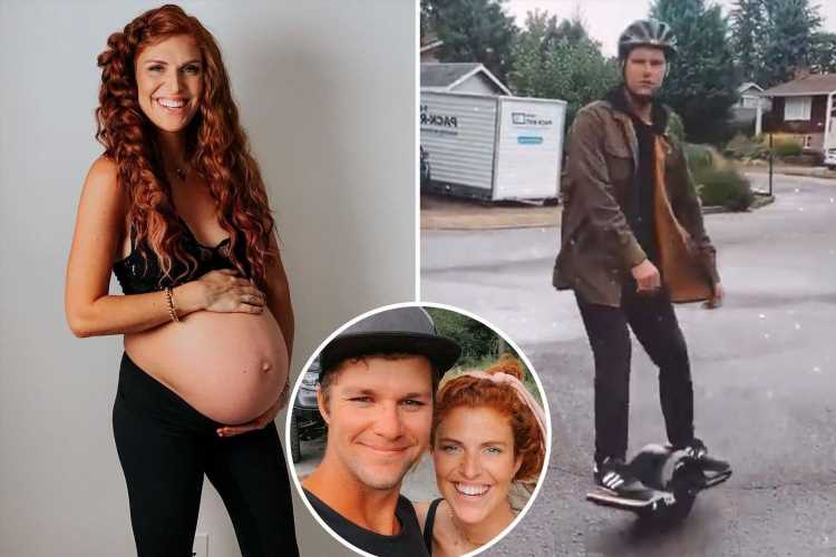 Little People's pregnant Audrey Roloff rips husband Jeremy for new 'skateboarding hobby' when she's about to give birth