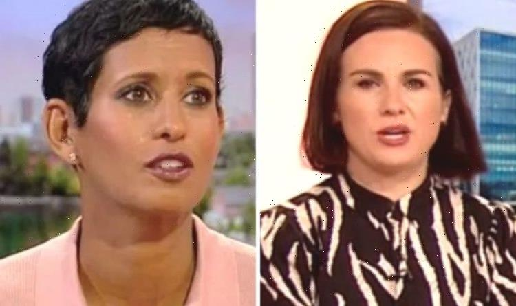 Naga Munchetty takes another break from BBC as Nina Warhurst steps in for second day