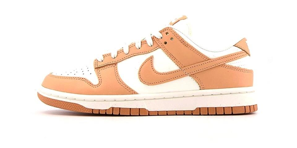 """Nike Dunk Low Surfaces With a Clean """"Harvest Moon"""" Color Scheme"""