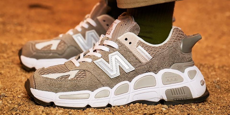 """Release Info for Salehe Bembury's New Balance 574 Yurt and Apparel """"""""Universal Communication"""" Collection"""