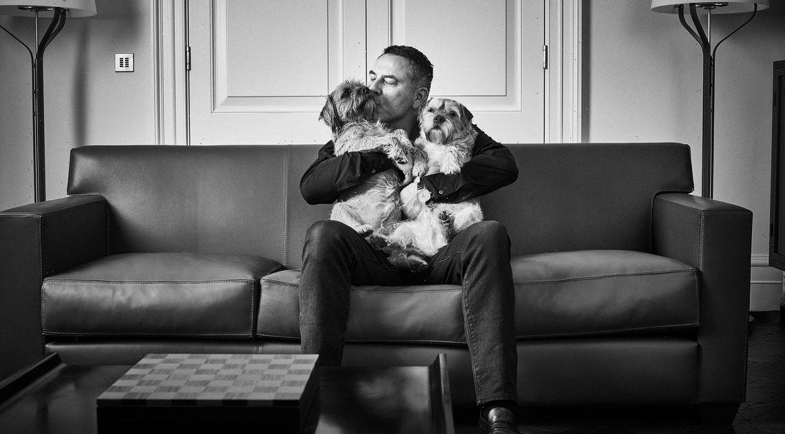 Stunning new photo series shows A-listers posing – with their dogs